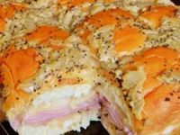 Kings Hawaiian Baked Ham & Swiss Sandwiches