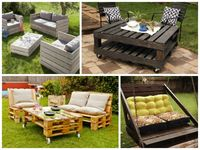 Pallet Furniture / Pallet Furniture Recycled, Up-cycled, Re-purposed, Up-purposed things, DIY Ideas. http://www.recycled-things.com/