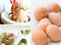 Easter eggs & decor