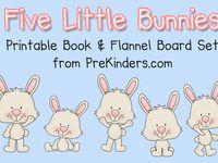Preschool Flannelboard Ideas