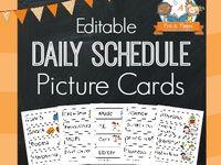 Preschool-Daily Schedule