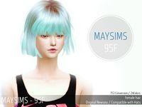 73 Best Sims 4 cc finds (korean hair *female*) images ...Korean Toddler Hair Sims 4