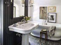 Bathroom Lighting Ideas / Bathroom lighting can illuminate the darkest corners of a room or add a subtle, calming sparkle. Browse this collection for inspiration in your own space