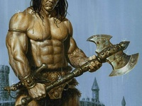 ... Cimmerian on Pinterest | Conan the barbarian, Artworks and The throne Conan The Destroyer Throne