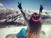 Snowboarding is what i love and the rest just gets me through