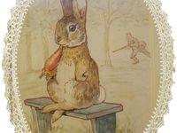Miniature Peter Rabbit Beatrix Potter