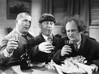 Some of the great comedians of that time... Abbott and Costello, Laurel and Hardy, Red Skelton, Three Stooges and more!