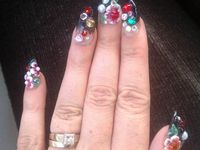 Nail art...and then some. by Puppagis on Pinterest | Nail Art, Wedding ...