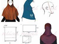 making hijab