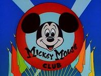 Who's the leader of the club that's made for you and me! M-I-C-K-E-Y MOUSE! Hey there! Hi there! Ho there! You're as welcome as can be! M-I-C-K-E-Y MOUSE Mickey Mouse! Mickey Mouse! Forever let us hold our banner high, high, high, high! Come along, and sing a song, and join the jamboree. M-I-C-K-E-Y MOUSE!