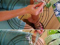 Wreath making ideas