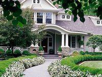 Les façades de maisons