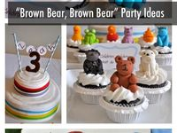 Brown Bear Theme party