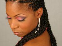 Hair styles on pinterest tree braids faux locs and crochet braids