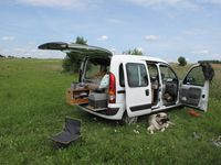 Micro-campers and camper vans, Van-dwelling, and extremely tiny nomadic abodes!