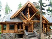 ༺♥༻ Log Homes ༺♥༻
