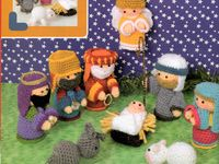 Belen Nativity Amigurumi : 1000+ images about portal de Belen crochet on Pinterest ...