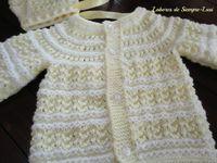 suéter de bebé