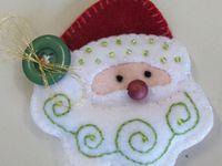 Crafts--Felt Christmas Ornaments