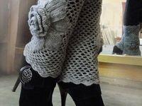 Crochet Legwarmer