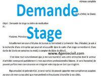 Telecharger Exemple Demande Stage Pdf Et Word Exemple De Lettre De Motivation Lettre De Stage Lettre De Motivation Stage