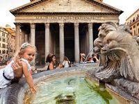 Rome sights, food, shops