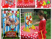 our little carnival/circus