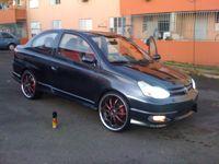 Toyota Yaris Mk1 1999-2003 Door Mirror Electric Black O//S Driver Right