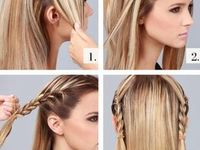 hairstyles, makeup