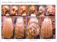 It is so much fun looking for the 'perfect' hairstyle.