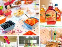 Evie Birthday - PJs and Pancakes