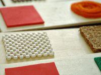 Pre-Braille/texture/Sensory/VI activities