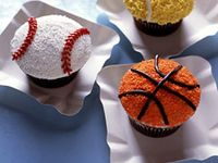 Sports, teams, balls, football, baseball, bowling, basketball, March Madness, cheerleading, hockey, World Series, Stanley Cup, Super Bowl, NASCAR, racing, Tailgating, tennis, Olympics, etc. ~ decorations & food (party ideas, crafts & recipes)