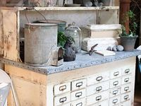 Early Drawers and Cubbies