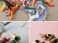 Plastic Animal Crafts