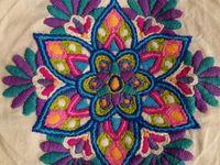 Proyectos bordado mexicano
