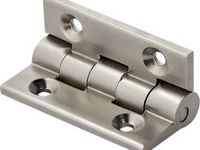 Highpoint 105 Degree Stop Hinge Nickel Plated 8 1 Piece Habanos