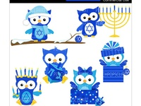 1000+ images about Hanukkah on Pinterest | Owl, Clip art and Happy