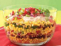 Salads (green, pasta, rice, potato, fruit)