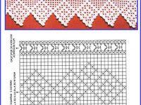 Crochet Curtains - Gehaakte Gordijntjes