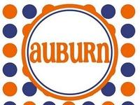 Auburn...You had me at War Eagle!