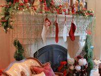 Christmas, Christmas Decor, Christmas Mantel, Christmas Decorating