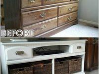 Meer dan 1000 afbeeldingen over oude meubels pimpen op Pinterest