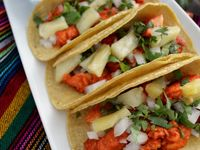 ... about Comida on Pinterest | Al pastor, Hot dogs and Gourmet hot dogs