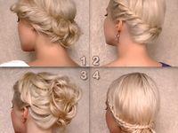 Cabelos/Penteados / Penteados, cuidados e dicas para um cabelo mais bonito.