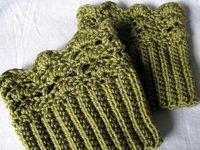 Crochet: Mitts/Gloves/Boot cuffs/Leg & Arm warmers