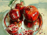 pomegranate paintings