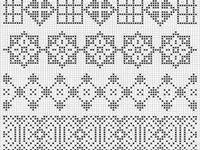 Fair Isle motifs