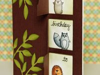 cards with creatures..owl's.and others