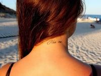 Tattoos....placement, style, and beauty to me.